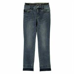 Emporio Armani Logo Waist Jeans