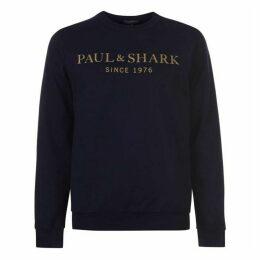 Paul And Shark 1976 Logo Sweater Mens