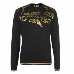 Versace Jeans Couture Versace Swirl Logo Sweatshirt
