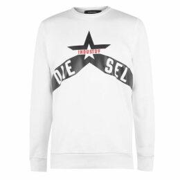 Diesel Jeans Diesel Mens Star Sweatshirt