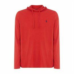 Polo Ralph Lauren Polo Mens Long Sleeved Logo Hooded T Shirt