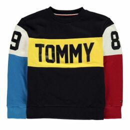 Tommy Hilfiger Multi Colour Crew Sweatshirt