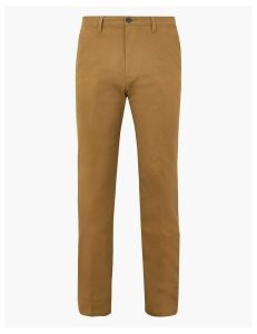 M&S Collection Cotton Rich Chinos with Stretch