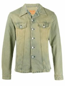 Helmut Lang Pre-Owned 1998's Two Pocket Denim Jacket - Neutrals