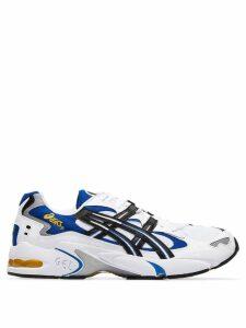 Asics White Gel Kayano 5 low top sneakers