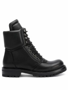 Rick Owens Larry Army ankle boots - Black