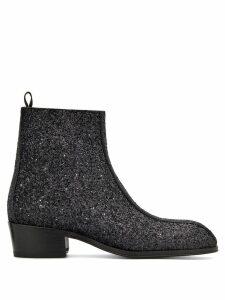 Giuseppe Zanotti New York Glitter ankle boots - Black