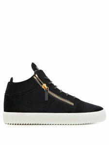 Giuseppe Zanotti zip detail sneakers - Black