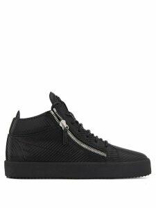 Giuseppe Zanotti Kriss woven sneakers - Black