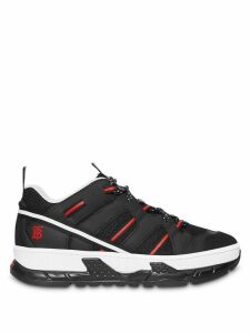 Burberry Union low-top sneakers - Black