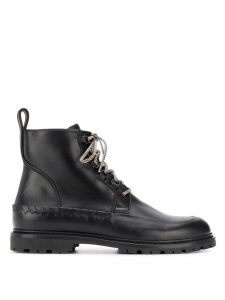 Bottega Veneta lace-up ankle boots - Black