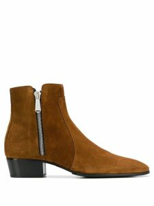 Balmain Mike ankle boots - Brown