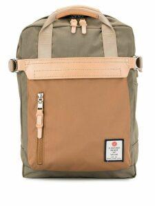 As2ov contrast panel backpack - Brown