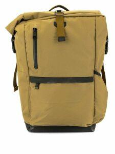 As2ov roll top backpack - Brown