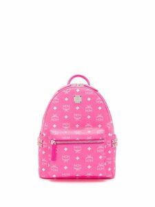 MCM classic logo backpack - PINK