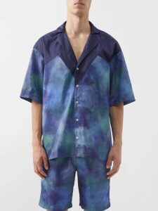 Both - Lace Up Rubber And Canvas Boots - Mens - Black