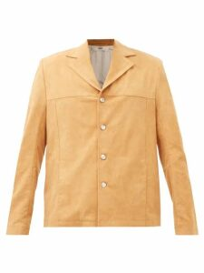 Rick Owens - Drawstring Cotton Blend Trousers - Mens - Grey