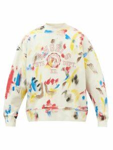 Etro - Wool Blend Jacquard Sweater - Mens - Blue Multi