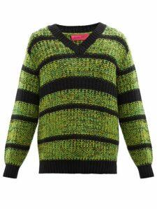 Ader Error X Maison Kitsuné - Panelled Technical Fabric Track Pants - Mens - Cream