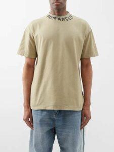 Burberry - Embroidered Monogram Harrington Jacket - Mens - Black