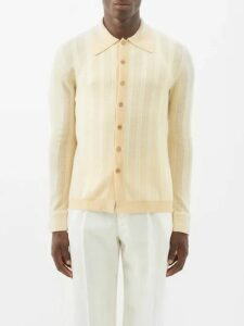 Valentino - Go Logo And Camouflage Printed Jacket - Mens - Khaki