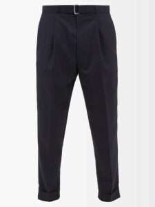 Rick Owens - Fisherman Ribbed Wool Blend Sweater - Mens - Black Brown