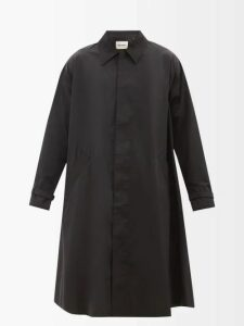 Acne Studios - Ferris Face Logo Patch Cotton Hooded Sweatshirt - Mens - Pink