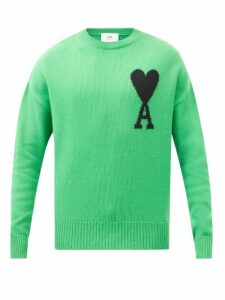 Altea - Pleated Brushed Cotton Blend Twill Chinos - Mens - Khaki