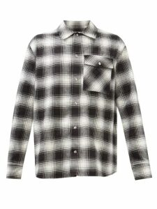 Stone Island - Hooded Quilted Down Filled Jacket - Mens - Dark Grey