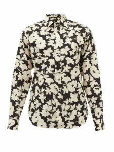 Stone Island - Logo Patch Cotton Cargo Track Pants - Mens - Dark Green