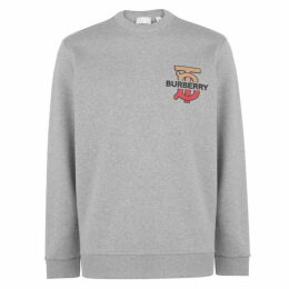Burberry Monogram Motif Sweatshirt
