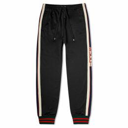 Gucci Taped Logo Track Pant Black