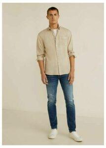 Slim fit dark vintage wash Tim jeans