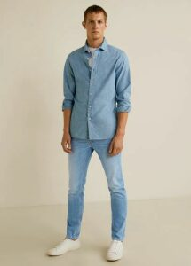Slim fit light wash Tim jeans
