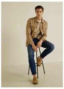 Slim fit faded dark wash Tim jeans