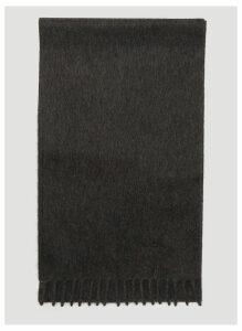 Prada Cashmere Scarf in Grey size One Size