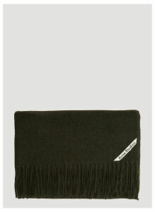 Acne Studios Canada New Scarf in Green size One Size
