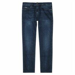 BOSS Delaware Blue Slim-leg Jeans