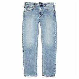 Calvin Klein Jeans Light Blue Straight-leg Jeans