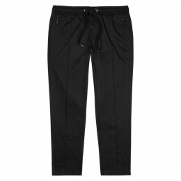 Dolce & Gabbana Black Stretch-cotton Trousers