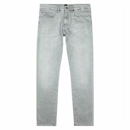 BOSS Delaware Light Grey Slim-leg Jeans