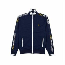 Polo Ralph Lauren Navy Printed Cotton Sweatshirt