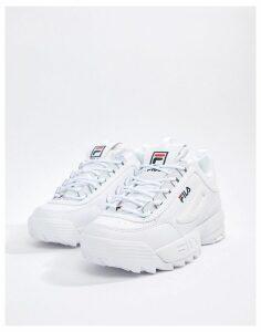 Fila Disruptor Trainers In White