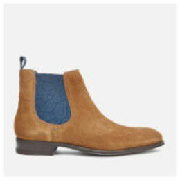 Ted Baker Men's Travics Suede Chelsea Boots - Tan - UK 8 - Tan