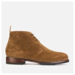 Grenson Men's Wendell Suede Desert Boots - Snuff - UK 11 - Tan