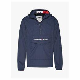 Tommy Jeans Lightweight Pop Jacket, Black Iris
