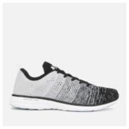 Athletic Propulsion Labs Men's Techloom Pro Trainers - Black/Heather Grey/White