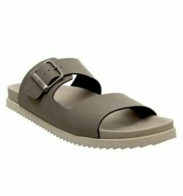 Office Laganas One Buckle Sandal TAUPE
