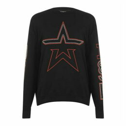 Diesel Jeans Studded Crew Sweater