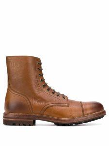 Brunello Cucinelli worker boots - Brown
